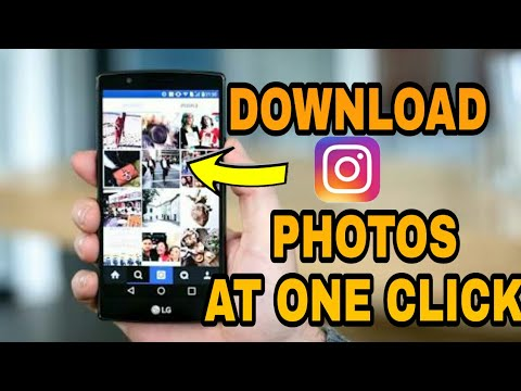 How to Download all Instagram photos & Videos At Once