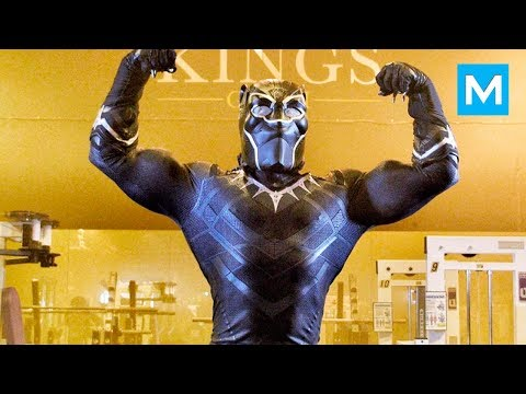 BLACK PANTHER in Real Life - Ulisses Jr | Muscle Madness