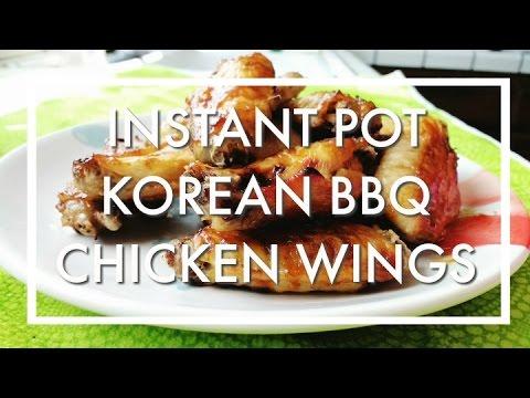 Instant Pot Korean BBQ Chicken Wings - Asian Recipe