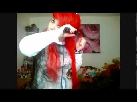 Red Hair Update ''scene''- Curly/Wavy hair