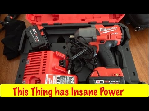 Milwaukee M18 Fuel 1/2 Impact Wrench Unboxing