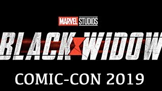 Marvel's Black Widow SDCC reveal (2020) MCU Phase 4