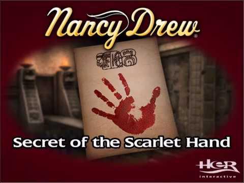 Nancy Drew: Secret of the Scarlet Hand - Deleted Footage