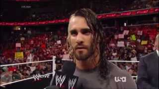 Seth Rollins imitates Ambrose and Reigns (RVD Segment)