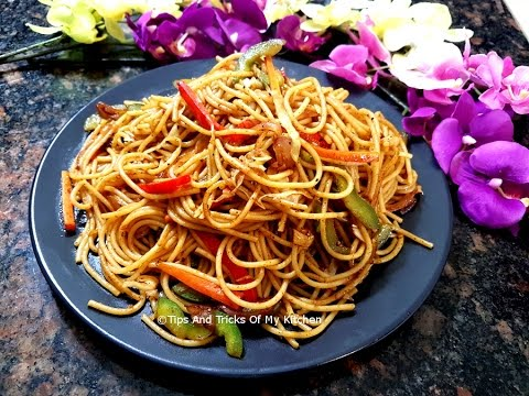 Veg Chow Mein Recipe In Hindi | Vegetable Chowmein Indian Style | How To Make Veg Chow Mein
