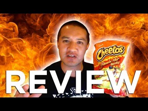 Flamin' Hot Crunchy Cheetos Video REVIEW: Freezerburns