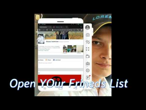 How TO Hide Friends List From Facebook On Android Phone