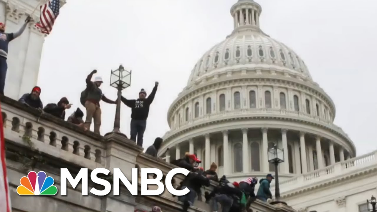 Giuliani Left Voicemail For Senator After Riot Asking For Help To Overturn Election | All In | MSNBC