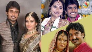 TV Actors Who Married Their Co-Stars | Tamil Serial Actress Family Album | Vamsam, Deivamagal