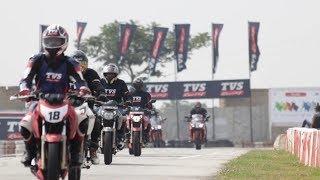 TVS Apache Racing Experience 2019 - Bangalore