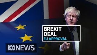 Boris Johnson faces uphill battle convincing MPs at home to support Brexit deal | ABC News