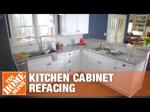Kitchen Cabinet Refacing - The Home Depot