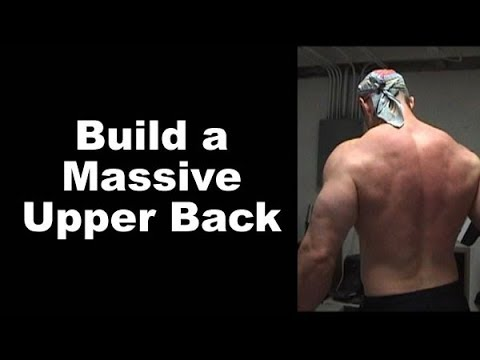 Build a MONSTER Upper Back and Middle Traps With the 2-Phase Row-Raise