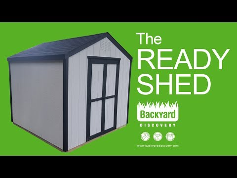Building The Ready Shed by Backyard Discovery [SPONSORED]