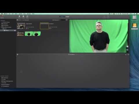 Green Screen Effect in iMovie