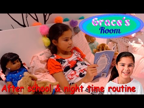 After School & Night Time Routine | Grace's Room