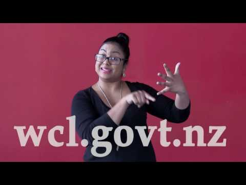 Sign Language - Welcome to Wellington City Libraries!