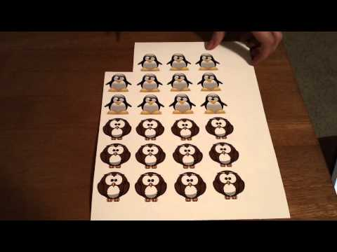 Make Your Own Inkjet Printable Vinyl Stickers