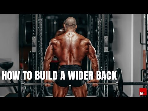 How to build a wider back