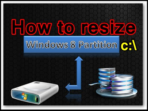 How to Expand partition C without loosing data or format in Windows 7, 8, 10