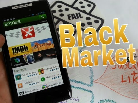 All Android APPS for FREE Aptoide Black Market [REVIEW]