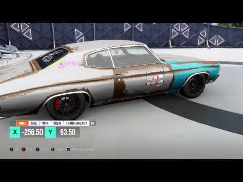 Forza Horizon 3 Rust Time Lapse Chevelle SS Horizon Edition