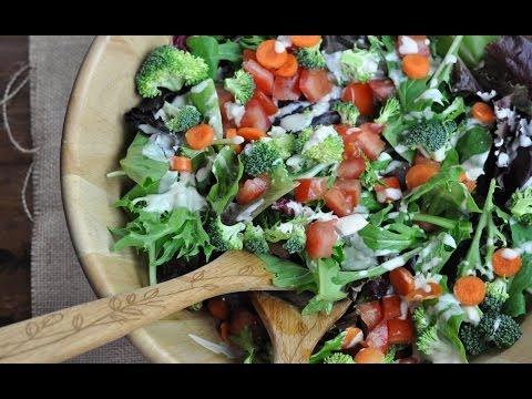 Easy Vegan Recipe | Tahini Salad Dressing