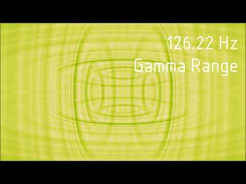 Pure 126.22 Hz Gamma Range Binaural Beats [30 min]