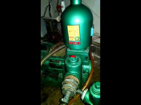 Rix mrz Water suction bottle and J'tt pump working.