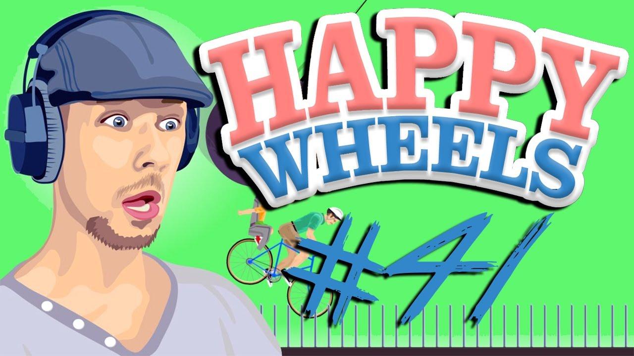 Happy Wheels - Part 41 | BOTTLE RUN KING