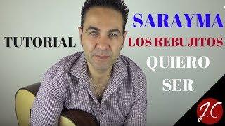 QUIERO SER,SARAYMA Y LOS REBUJITOS. Jerónimo de Carmen-Guitarra flamenca