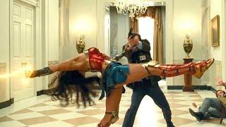 Wonder Woman 2020 - White House Fight Scene - Diana vs Barbara HD
