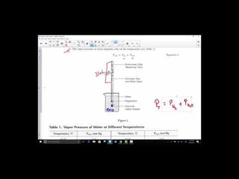 Molar Volume of Hydrogen PreLab Instruction