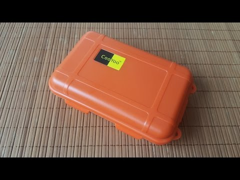 Gearbest Unboxing: Plastic Waterproof Airtight Survival Case Container Storage Travel Carry Box