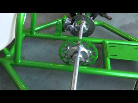 Drift Trike the green machine