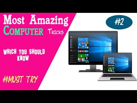 Most Amazing Computer Tricks which You Should Know