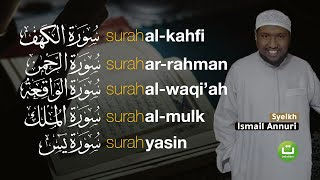 Surah Al-Kahfi I Ar-Rahman I Al-Waqiah I Al-Mulk I Yasiin