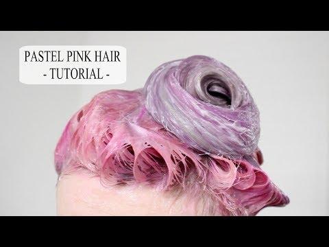 HOWTO: Pastel Pink Hair | Tutorial