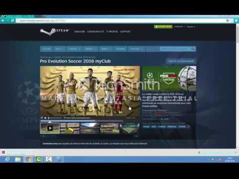 كيفية تحميل pes evolution soccer 2016 my club على برنامج steam
