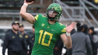 How Can Justin Herbert Torch Boise State?   Stadium