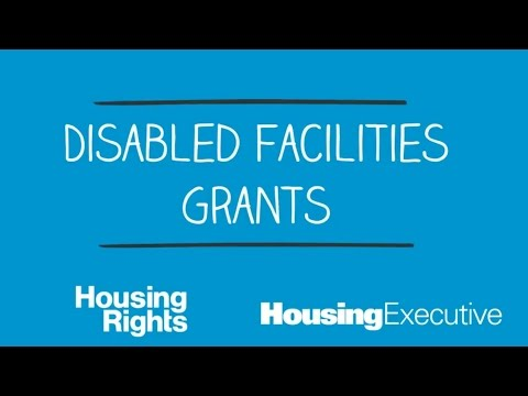 Getting help to stay in your home with Disabled Facilities Grants - Housing Rights NI