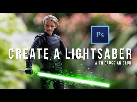 Lightsaber Effect Tutorial with Adobe Photoshop - ToyPhotography