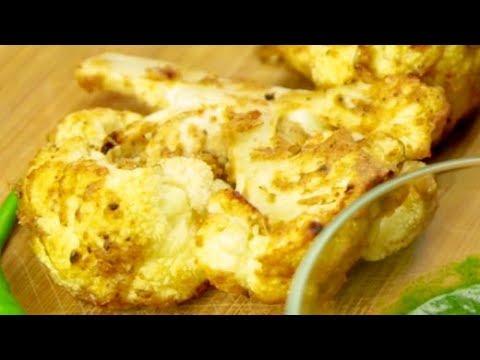 How To Make Tandoori Gobhi at Home   Homemade Tandoori Gobhi Recipe   Easy Veg Recipe