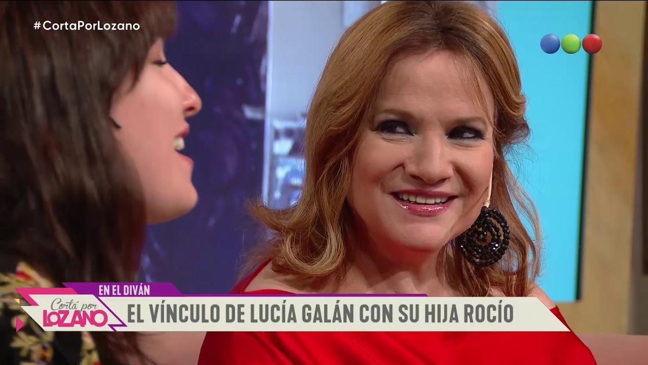 Lucia Galán y su hija Rocío en el diván - Cortá por Lozano 2019