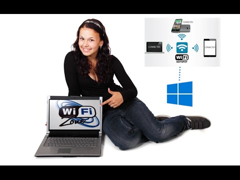 Turn your Windows Machine into a Wi-Fi Hotspot without any software