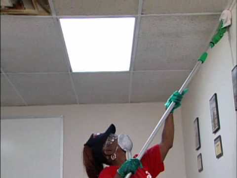 Ceiling Pro Cleaning Process (3 steps)
