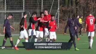 SSC Teutonia (U15) - FC Stern Marienfelde (U15) - Spielszenen (Landesliga, C-Jugend)   SPREEKICK.TV