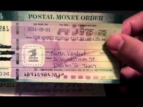 Fake Money Order