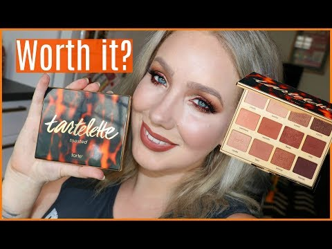Tartlette Toasted Palette! REVIEW, TUTORIAL & SWATCHES! | Jade Madden