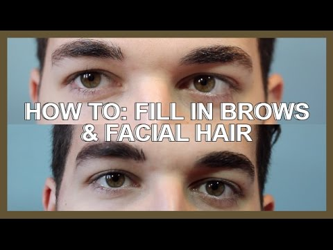 QUICK & EASY BROW + FACIAL HAIR FILL IN! | ZACK ARAD